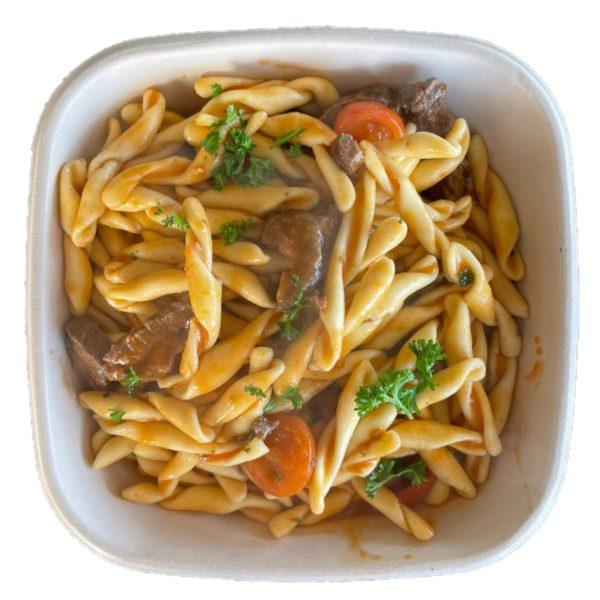 Restaurant Schäftlarn Italiener Hohenschäftlarn Strozzapretti mit Rinderfleisch