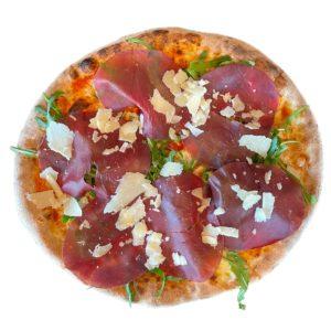 Restaurant Schäftlarn Italiener Hohenschäftlarn Pizza mit Bresaola Rucola e Parmesan