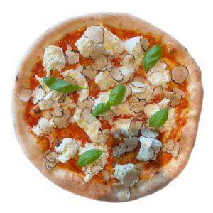 Restaurant Schäftlarn Italiener Hohenschäftlarn Pizza mit schwarzem Trüffel